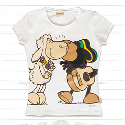 T-Shirt Mulher Jolly Lovely & Jolly Bob