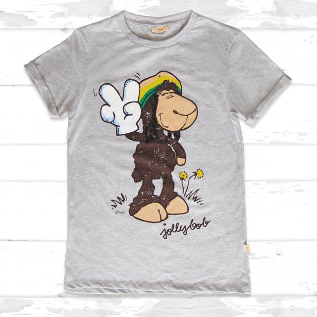 Camiseta para hombre Grey Jolly Bob