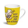 """""""Keep Calm and Rock'n'Roll"""" mug"""