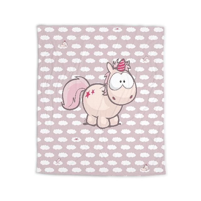 Theodor Unicorn Polar Blanket
