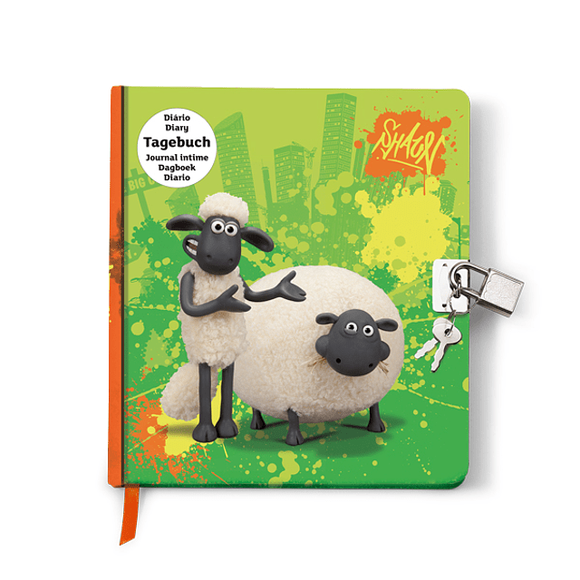 Diary With Sheep Key Choné