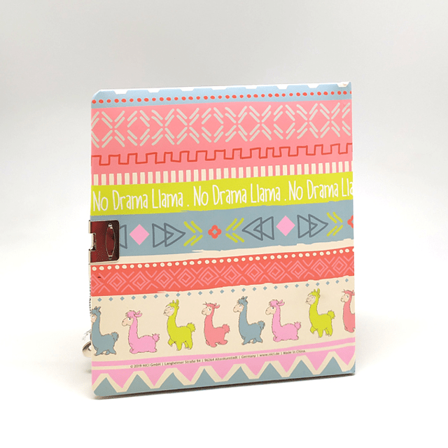 Diary With Pink Mud Key