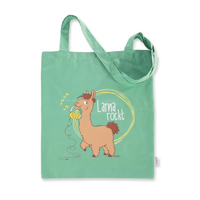 "Luís Lama Shopping Bag ""Lama Rockt"""