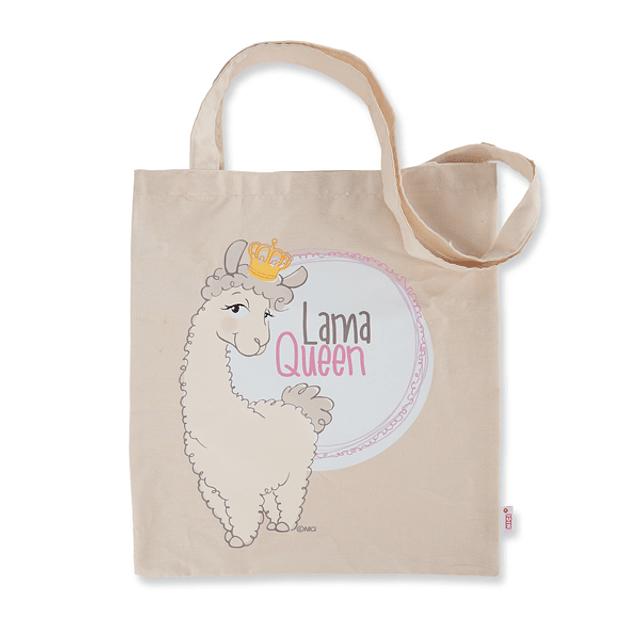 "Saco de Compras Dália Lama, ""Lama Queen"""