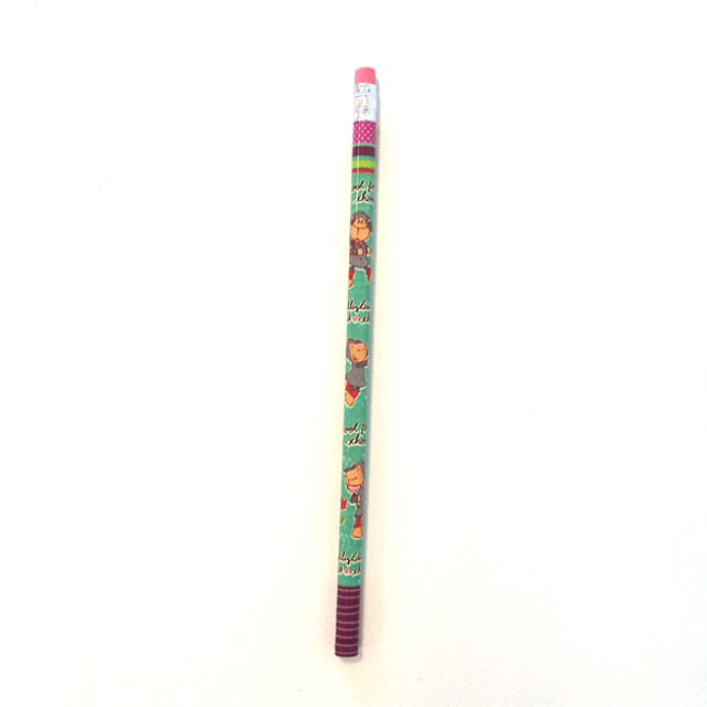 Pencil with Jolly Lucy Eraser