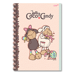 A4 Jolly Candy & Coco notebook