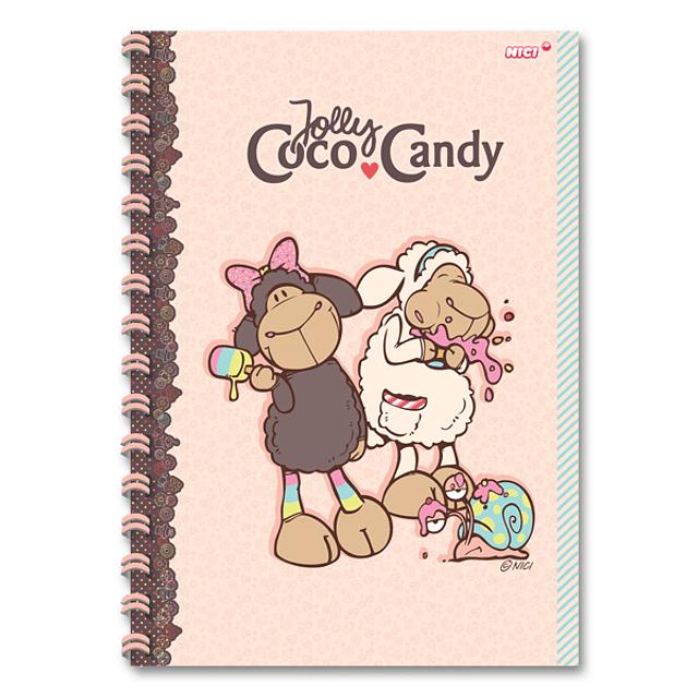 Cuaderno A4 Jolly Candy & Coco
