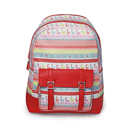 Small Ethnic Mud Backpack