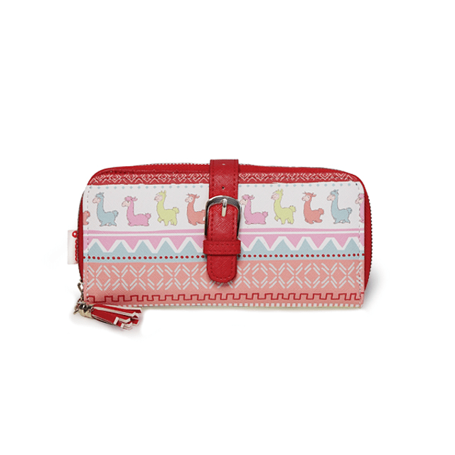 Wallet with Ethnic Mud Buckle