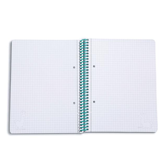 Caderno c/espiral Lama