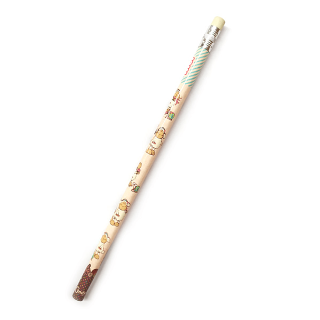 Pencil with Jolly Candy & Coco Eraser