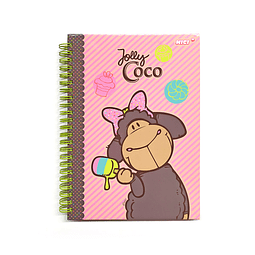 A5 Jolly Candy & Coco notebook