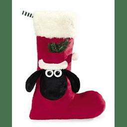 Meia de Natal Ovelha Choné