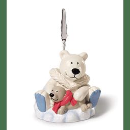 Porta-Fotos Urso Polar