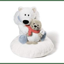Polar Bear Cushion and Seal
