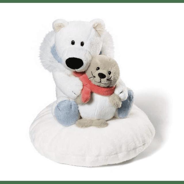 Almofada Urso Polar e Foca