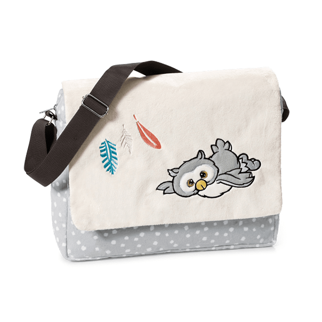 Plush shoulder bag, Owl