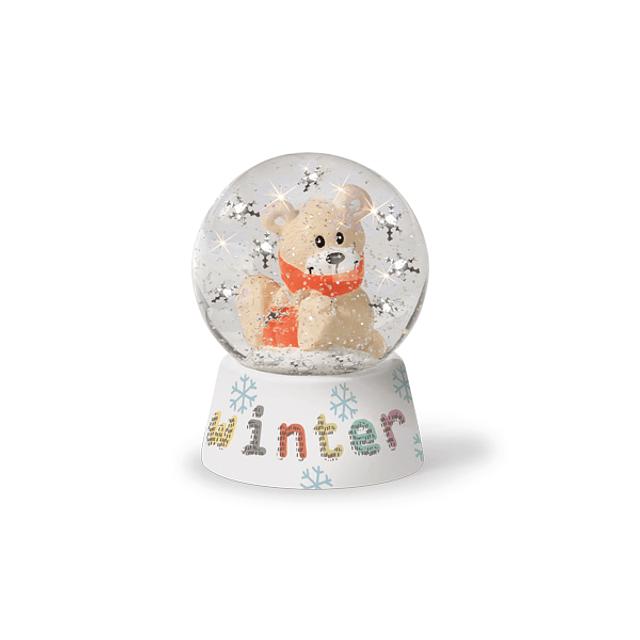 Bear water globe