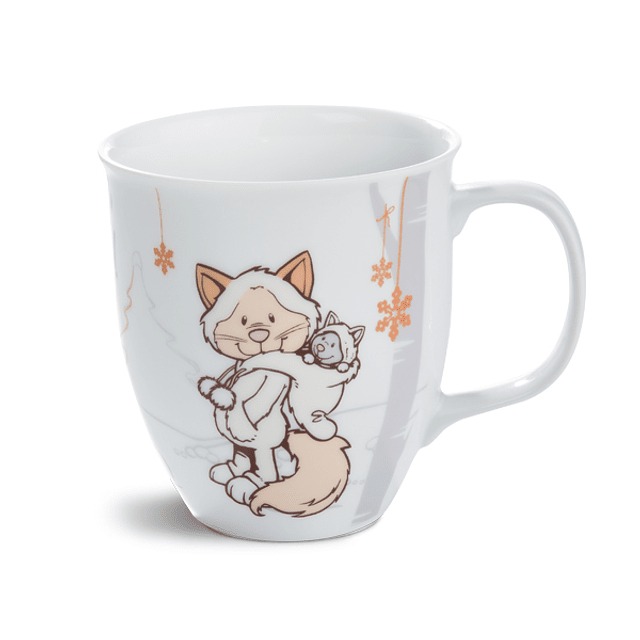 Snow Cat Mug