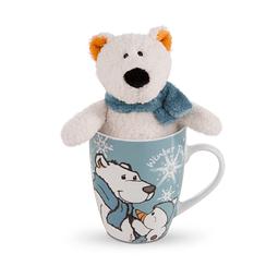 Bignic Polar Bear Mug & Teddy
