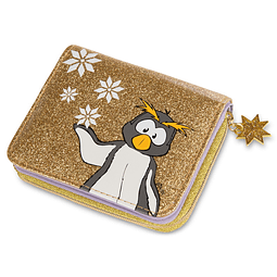 Frizzy Penguin Wallet