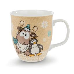 Reindeer Reny Heart Mug