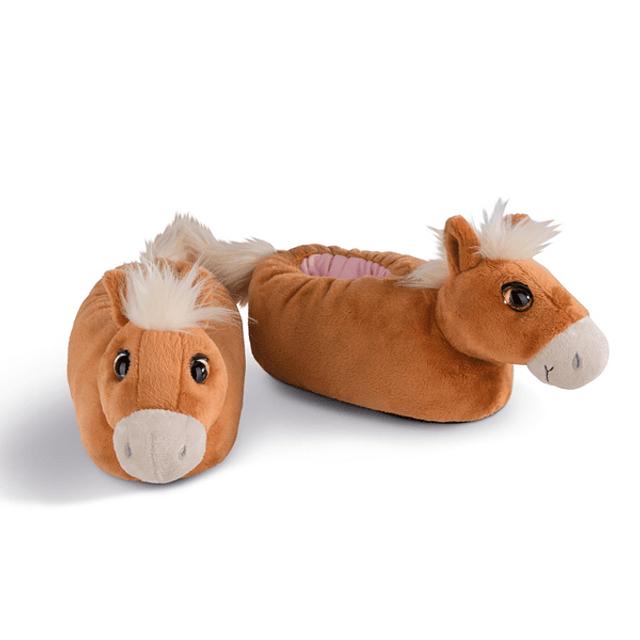Haflinger Leotie slippers