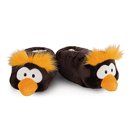 Frizzy Penguin Slippers