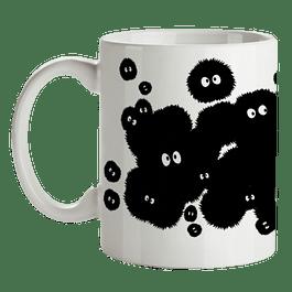 Mug Conejos De Polvo Mi Vecino Totoro