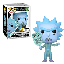 Hologram Rick Clone Funko Pop Rick And Morty 665 Amazon