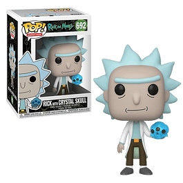 Rick With Crystal Skull Funko Pop Rick And Morty 692