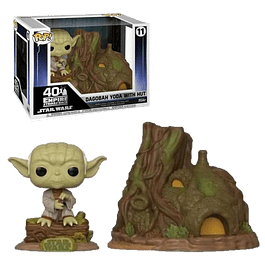 Dagobah Yoda With Hut Funko Pop Town Star Wars 11