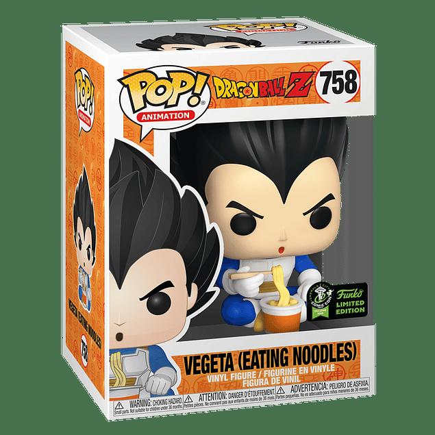 Vegeta Eating Noodles Funko Pop Dragon Ball Z 758 ECCC2020