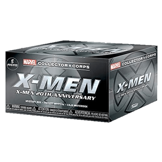Funko Pop Marvel Collector Corps X Men 20 Years