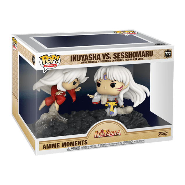 InuYasha VS Sesshomaru Funko Pop InuYasha 772 Anime Moments