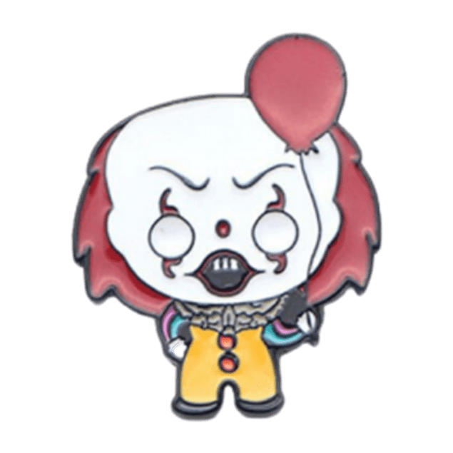 Pin Pennywise Con Globo