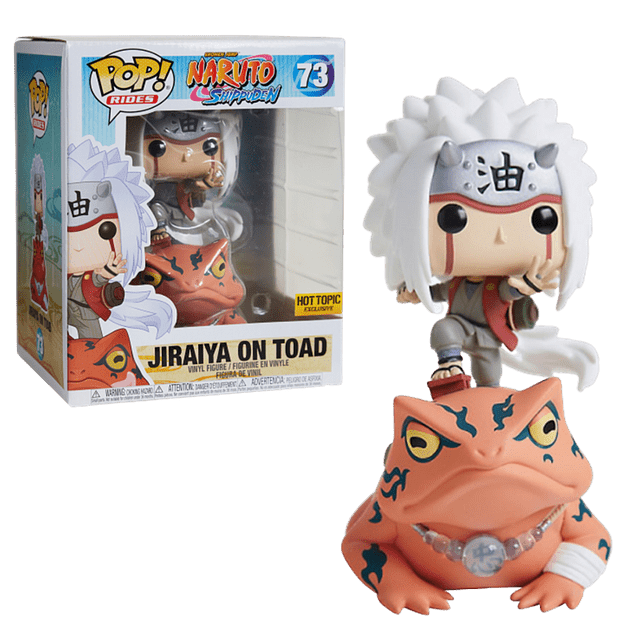 Jiraiya On Toad Funko Pop Naruto 73 Hot Topic