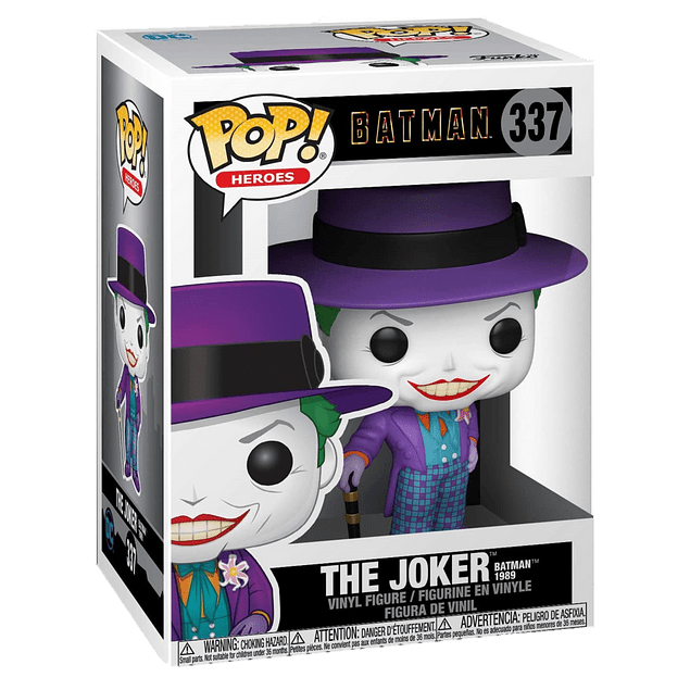 The Joker 1989 Funko Pop Batman 337