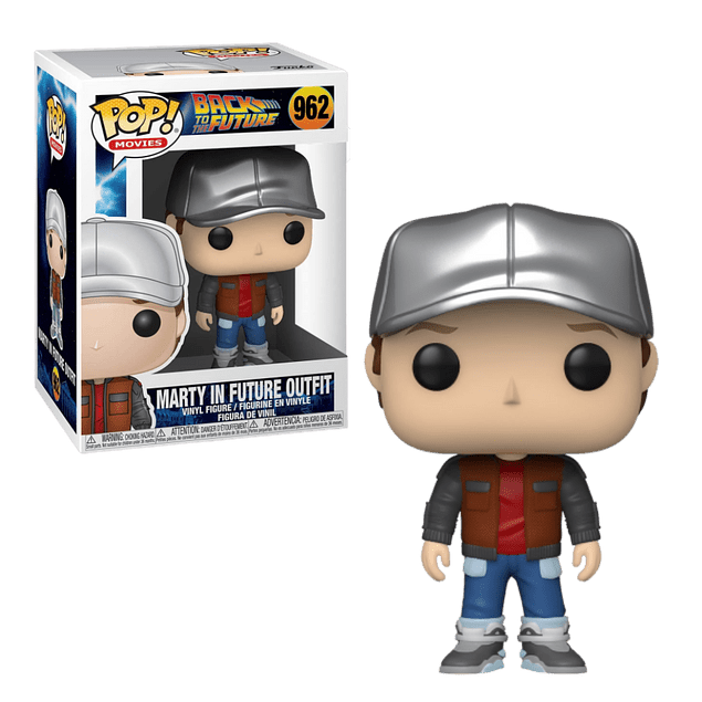 Marty In Future Outfit Funko Pop Back To The Future 962