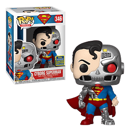 Cyborg Superman Funko Pop 346 SDCC2020