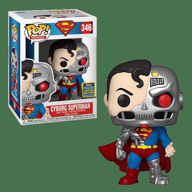 Cyborg Superman Funko Pop 346 SDCC2020