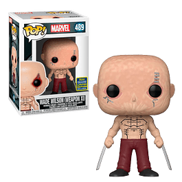 Wade Wilson Weapon XI Funko Pop Marvel 489 SDCC2020