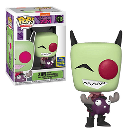 Zim With Minimoose Funko Pop Invader Zim 1016 SDCC2020