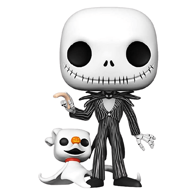 Jack Skellington and Zero Funko Pop Disney 809