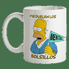 Mug Me Duelen Los Bolsillos Homero Simpson