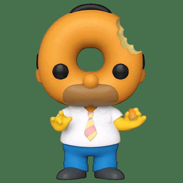 Donut Head Homer Funko Pop The Simpsons 1010 Hot Topic