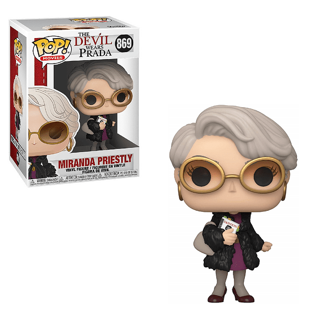 Miranda Priestly Funko Pop The Devil Wears Prada 869