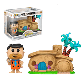 Fred Flintstone With House Funko Pop The Flintstones 14