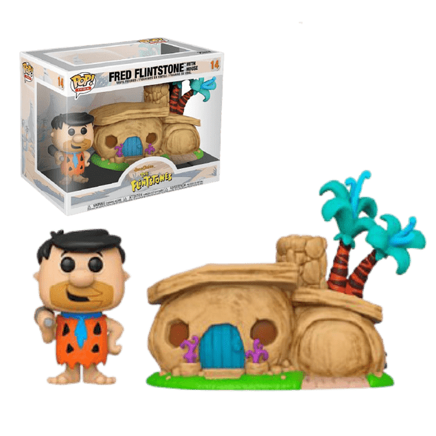 Fred Flintstone With House Funko Pop The Flintstones 14