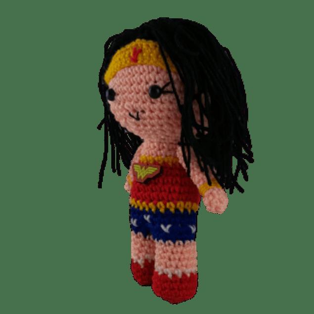 Amigurumi Mujer Maravilla
